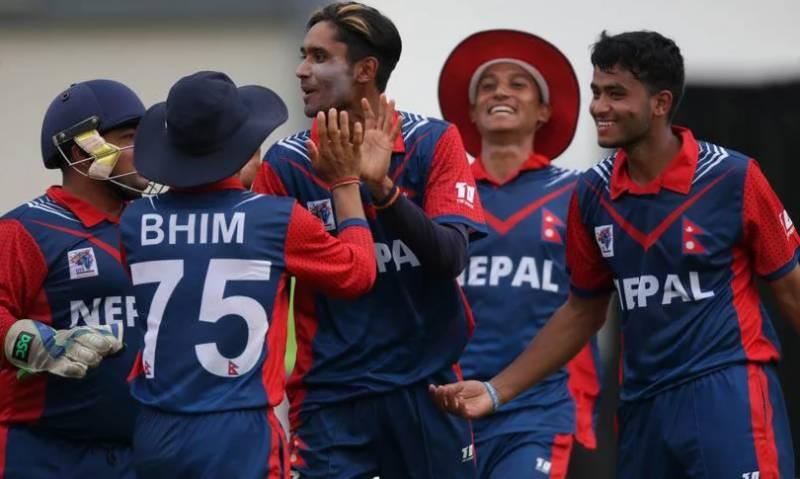 بھارتٰ ٹیم کو نیپال کے ہاتھوں 19 رنز سے اپ سیٹ شکست