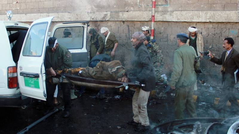 یمن میں داعش کے خودکش کار بم دھماکے میں 10افراد جاں بحق