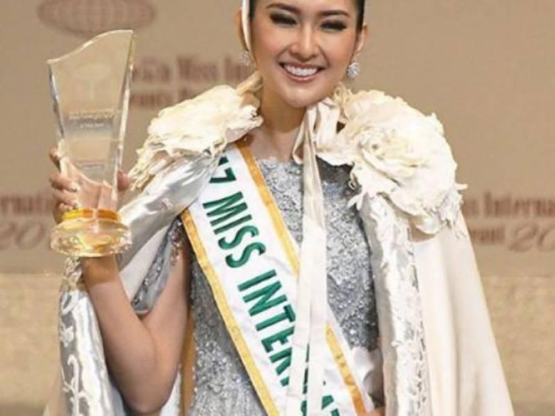انڈونیشیا کی حسینہ نے 57 واں عالمی مقابلہ حسن اپنے نام کر لیا