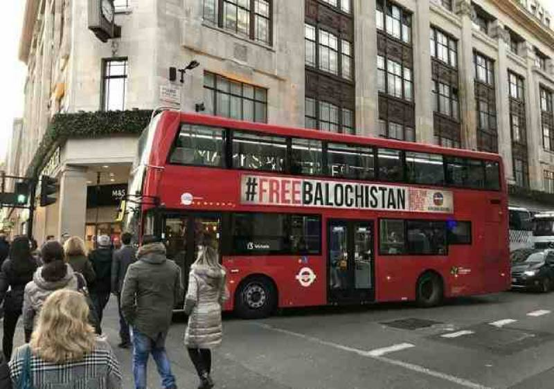 لندن میں بسوں پر پاکستان مخالف اشتہار کس نے لگوائے،تحقیقات شروع
