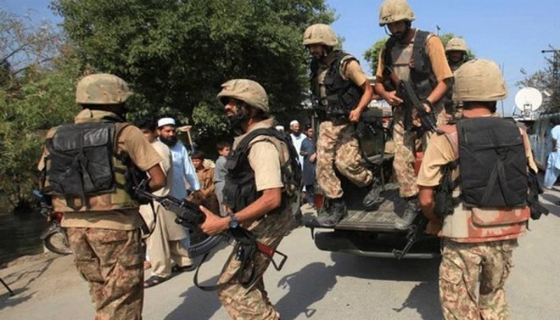 رینجرز اور حساس اداروں کا ڈیرہ غازی خان میں مشترکہ آپریشن، کالعدم تنظیم کے 4 دہشتگرد گرفتار
