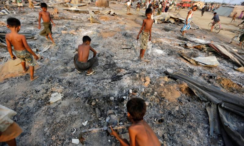 میانمار کے بعد سری لنکا کے بدھوں نے بھی مسلمانوں پر حملے شروع کر دئیے