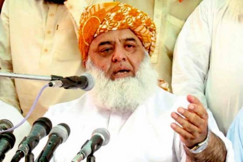 ہمارے بغیر کوئی حکومت چل بھی نہیں سکی نہ ہی بن سکتی ہے: مولانا فضل الرحمن