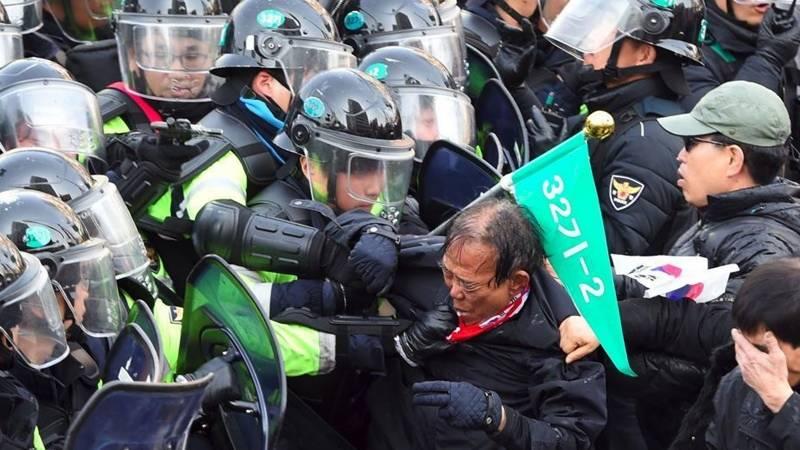 جنوبی کوریا میں تھاڈ سسٹم کی تعیناتی،مقامی لوگوں کا احتجاج