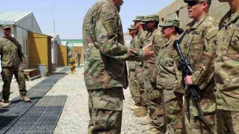 امریکا کا افغانستان میں نیا فوجی کیمپ قائم کرنے کا امکان