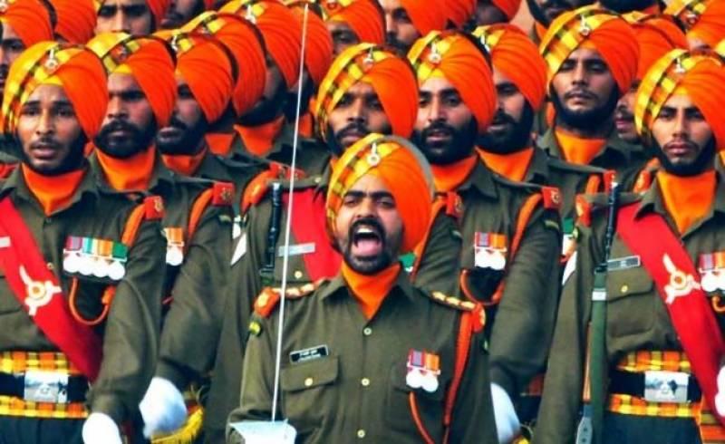 بھارتی فوج میں سکھوں کے ساتھ ناروا سلوک کا انکشاف