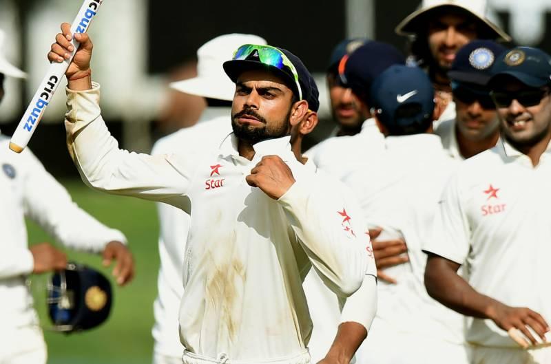 بھارت مسلسل 9 ٹیسٹ سیریز جیت کر انگلینڈ اور آسٹریلیا کے برابر آ گیا