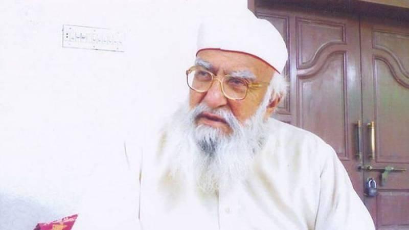 نہ پہلے دھرنا دیا نہ اب دوں گا، مؤقف سے ہٹ نہیں سکتا،پیر حمید الدین سیالوی