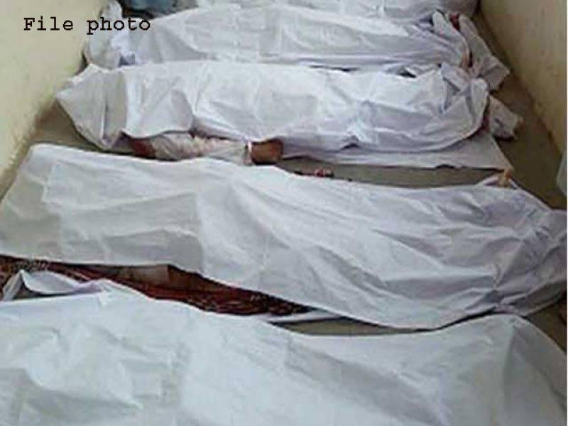 شاہ کوٹ،بارش کے باعث گھر کی چھت گرنے سے 4 بھائی جاں بحق،2 افراد زخمی