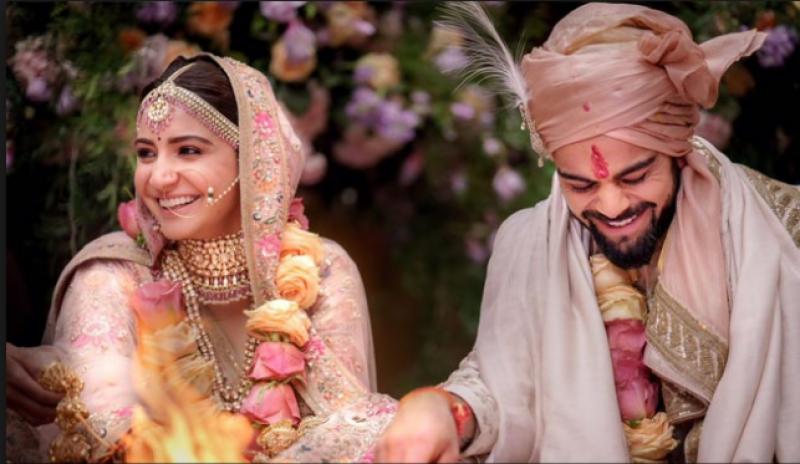 ویرات اور انوشکا نے اپنی شادی کی تصاویر بیچنے کا اعلان کر دیا