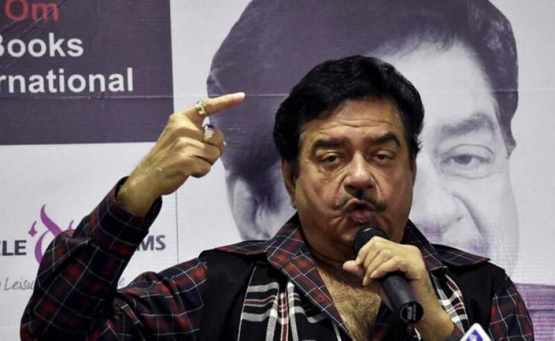 مودی پاکستان سے رابطوں کا الزام لگانے کی بجائے انتخابی وعدے پورے کریں، شتروگن سنہا