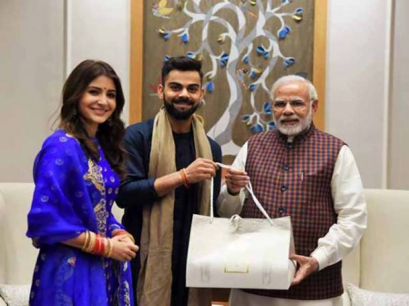 بھارتی وزیر اعظم کی ویرات اور انوشکا کو شادی کی مبارکباد