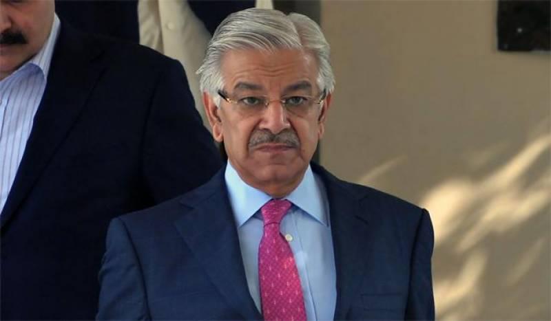 خورشید شاہ کو سعودی عرب جانے سے متعلق اعتراض نہیں ہونے چاہئیں : خواجہآصف