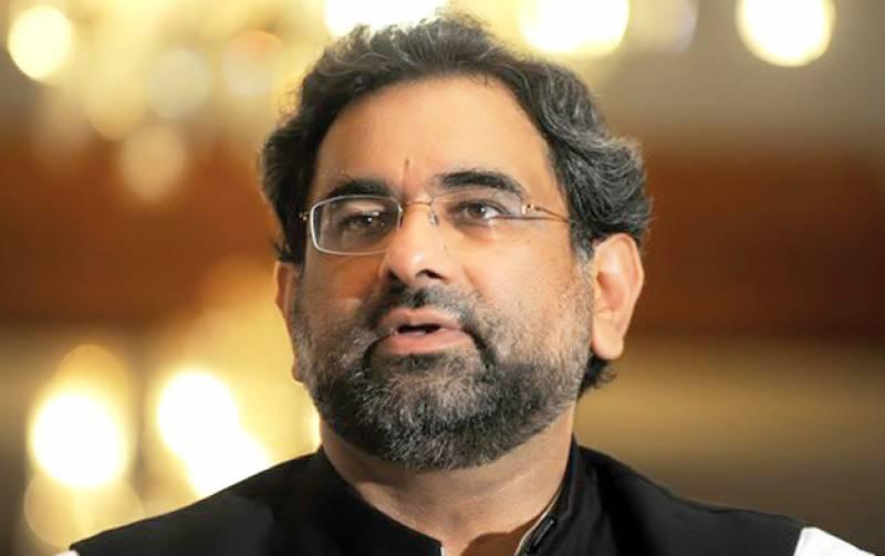 ملکی ترقی کو یقینی بنانے کیلئے معاشی استحکام ناگزیر ہے : شاہد خاقان عباسی