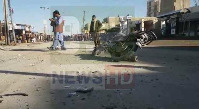 چمن، اسپیشل برانچ کے دفتر کے باہر 2 دھماکے، 6 افراد زخمی