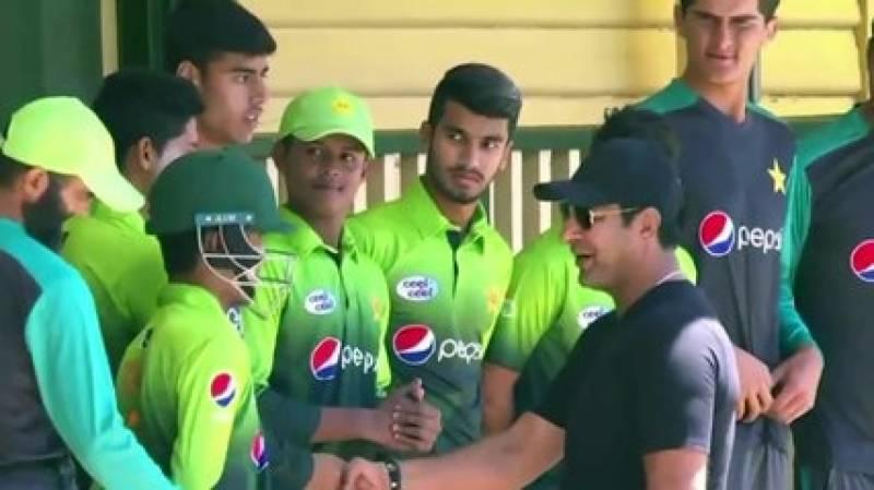 وارم اپ میچ میں پاکستان نے نمیبیا کو 107 رنز سے شکست دیدی