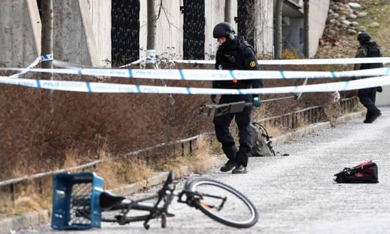 امریکی شہر سٹاک ہوم کے میٹرو سٹیشن کے باہر دھماکہ،ایک شخص ہلاک،خاتون زخمی