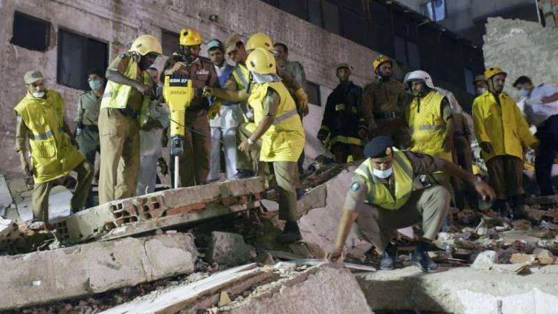 سعودی عرب میں زیر تعمیر عمارت گر نے سے دو پاکستانی ہلاک