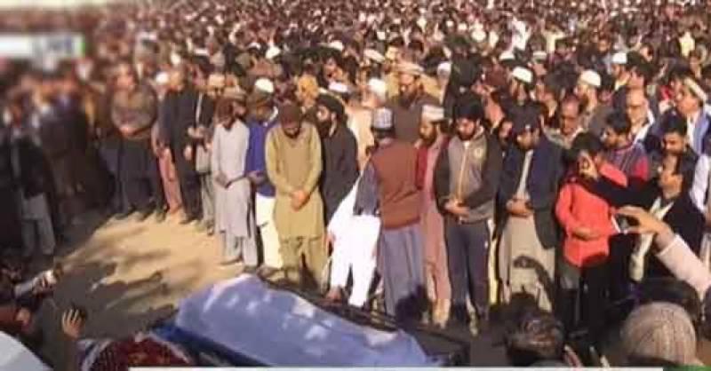 قصور، پولیس فائرنگ سے جاں بحق 2 شہریوں کی نماز جنازہ ادا کر دی گئی