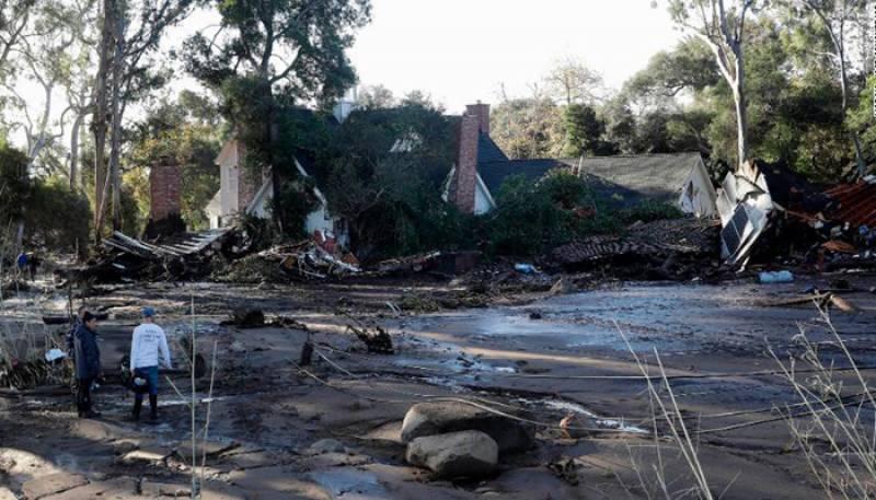 کیلیفورنیا میں طوفانی بارشیں اور لینڈ سلائیڈنگ سے 17 افراد ہلاک ہو گئے