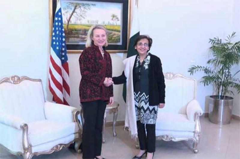 قائم مقام امریکی معاون وزیر خارجہ کی اسلام آباد پہنچ گئیں، تہمینہ جنجوعہ سے ملاقات