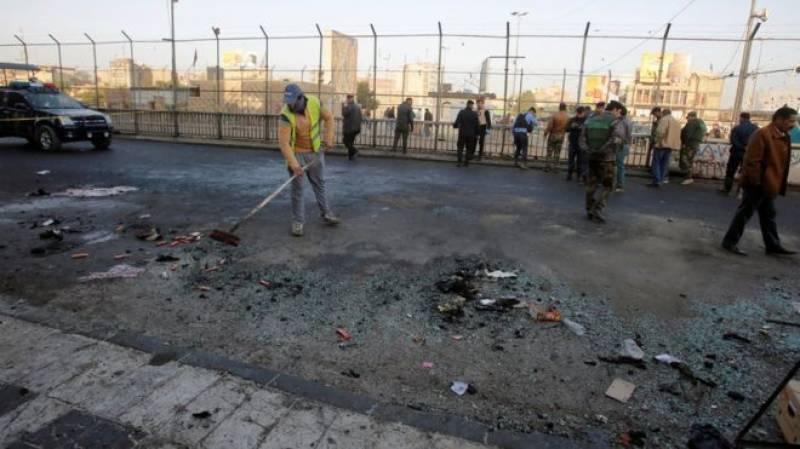 بغداد، خودکش دھماکے میں 26 افراد ہلاک ہو گئے