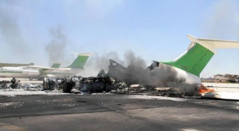 لیبیا کے بین الاقوامی ایئرپورٹ پر باغیوں کا حملہ، 12 افراد ہلاک، متعدد زخمی