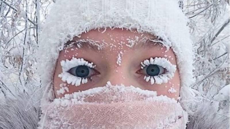 روس میں جما دینے والی سردی پڑنے لگی،درجہ حرارت منفی 60 سے بھی نیچے گرگیا