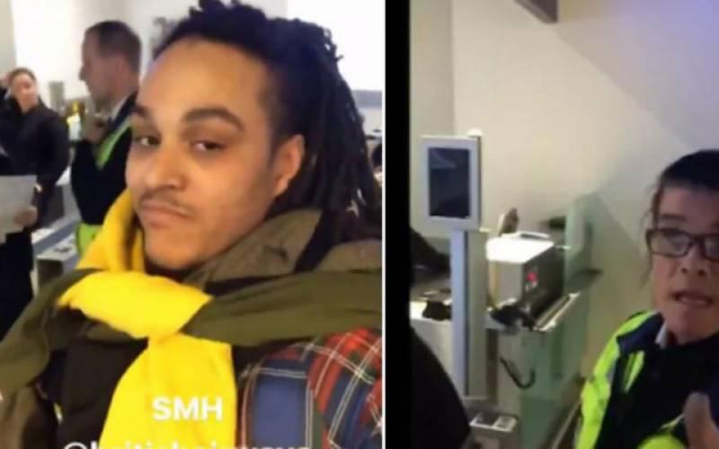لگج خرچے سے بچنے کیلئے برطانوی شہری کا ائیرپورٹ پر عجیب اقدام