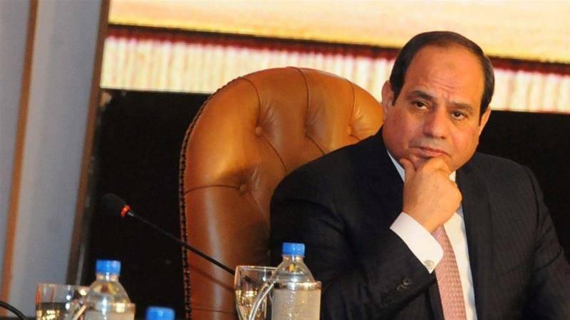 مصر کے صدر کا 2018 کے انتخابات میں حصہ لینے کا اعلان