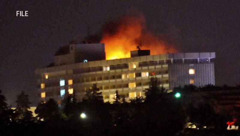 دہشتگردوں کا کابل ہوٹل پر حملہ ، کئی افراد یرغمال بنا لیے