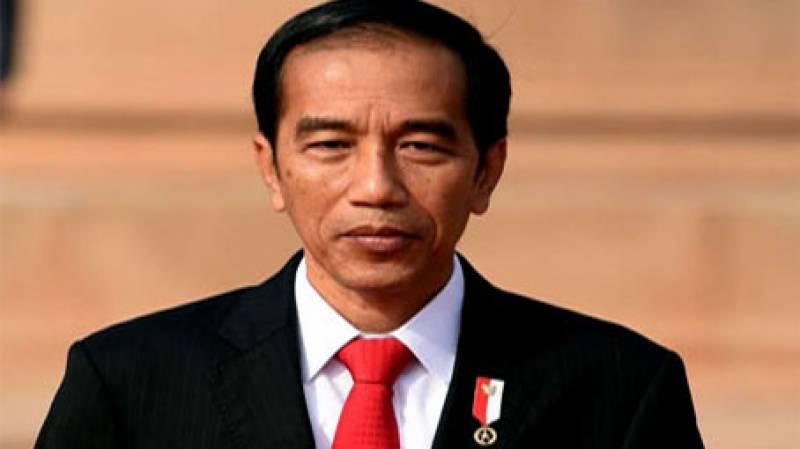 انڈونیشیا کے صدر جوکو ویدودو پاکستان پہنچ گئے