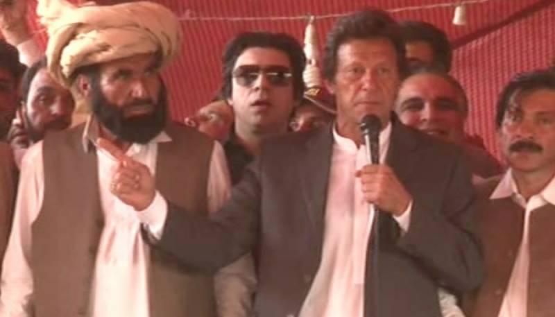 راو¿ انوار پولیس کی وردی میں ایک قاتل ہے جس کے پیچھے سیاستدان ہیں، عمران خان