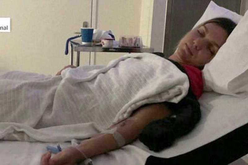 آسٹریلین اوپن کا فائنل ہارنے والی سیمونا ہالیپ ہسپتال جا پہنچیں