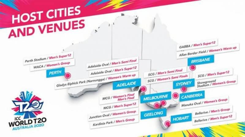 آئی سی سی نے ٹی 20 ورلڈ کپ کی میزبانی آسٹریلیا کو دیدی