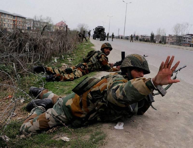بھارت کی فوجی چھاؤنی پر بڑے حملے میں 2 بھارتی فوجی مار ے گئے ،متعدد زخمی