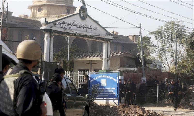 زرعی ڈائریکٹوریٹ پر حملہ آور دہشتگردوں کے سہولت کار کو گرفتار کر لیا گیا