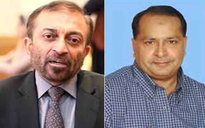 سلمان مجاہد بلوچ کی فاروق ستار سے ملاقات ، متحدہ پاکستان میں شمولیت کا اعلان