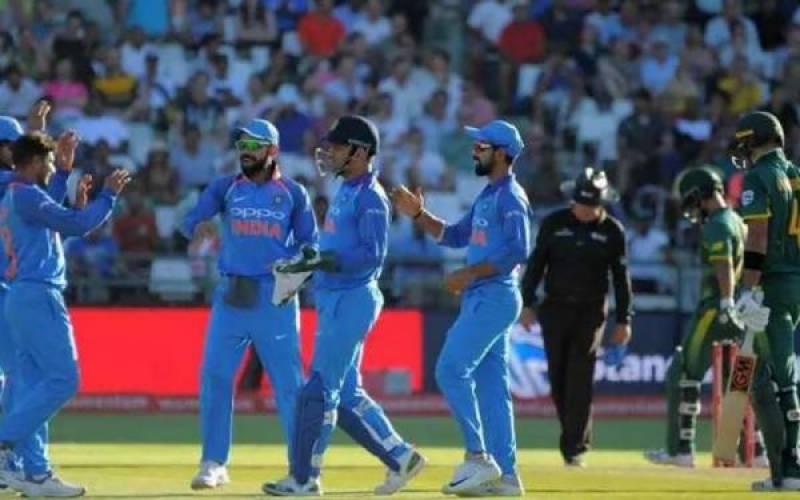 بھارت کی چوتھے ون ڈے میں جنوبی افریقہ کیخلاف 73 رنز سے فتح
