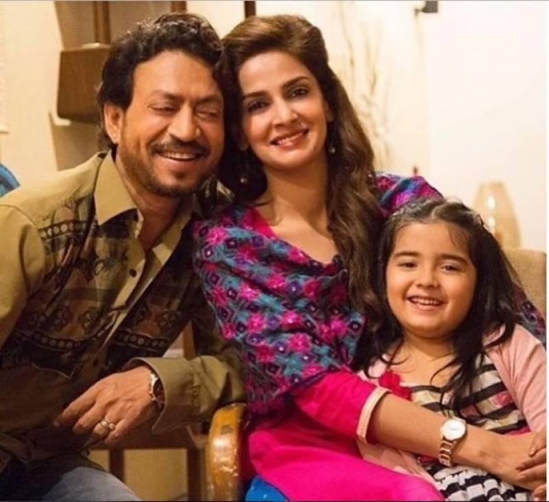 """فلم """"ہندی میڈیم"""" کے سیکوئل سے صباءقمر کی چھٹی"""