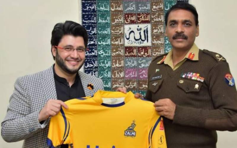 ڈی جی آئی ایس پی آر سے پشاور زلمی اور ملتان سلطان کے مالکان کی ملاقات