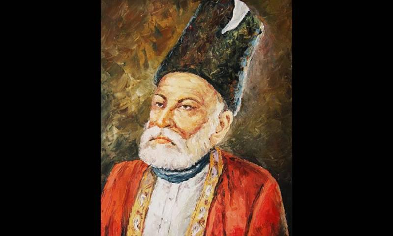 اردو ادب کے عظیم شاعر مرزا غالب کی 149ویں برسی آج منائی جا رہی ہے