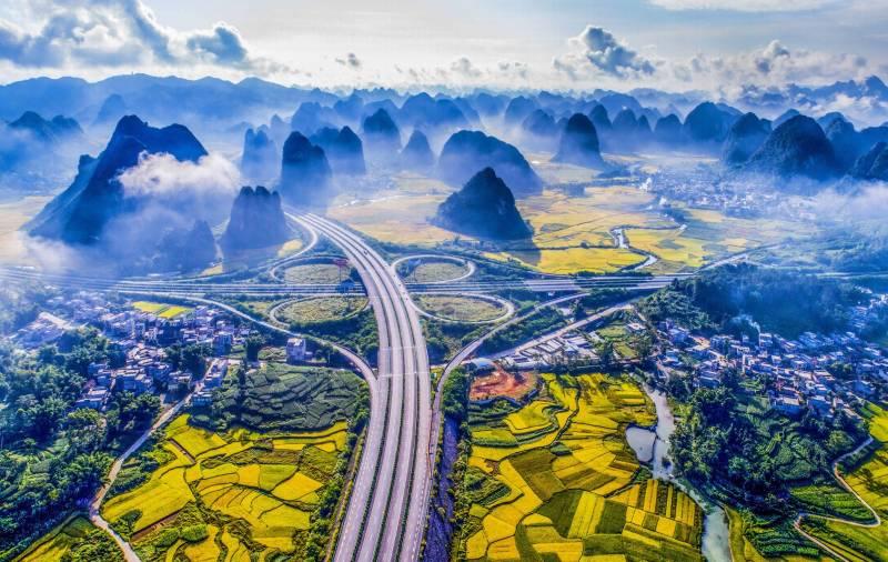چین کی خوبصورت ترین سڑک دیکھ کر حیران ہو جائیں گے