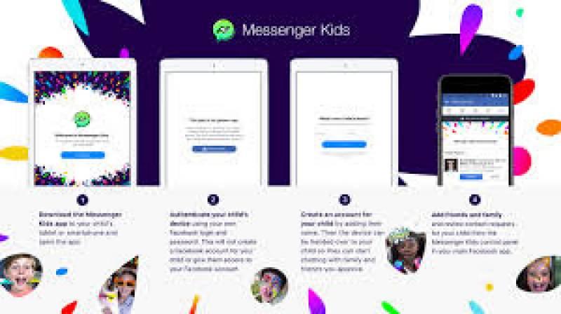 """بچوں کے لیے فیس بک کا """"میسنجر کڈز """"متعارف"""