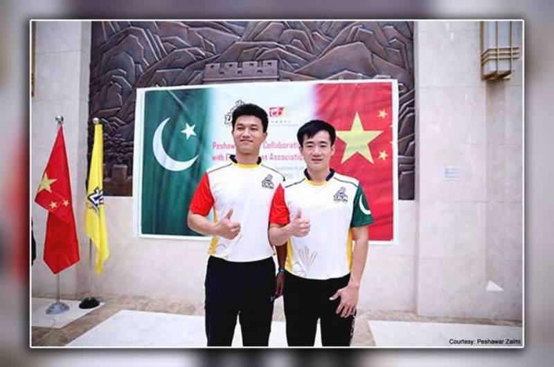 پی ایس ایل : پشاور زلمی میں کل چینی کرکٹرز ایکشن میں دکھائی دیں گے