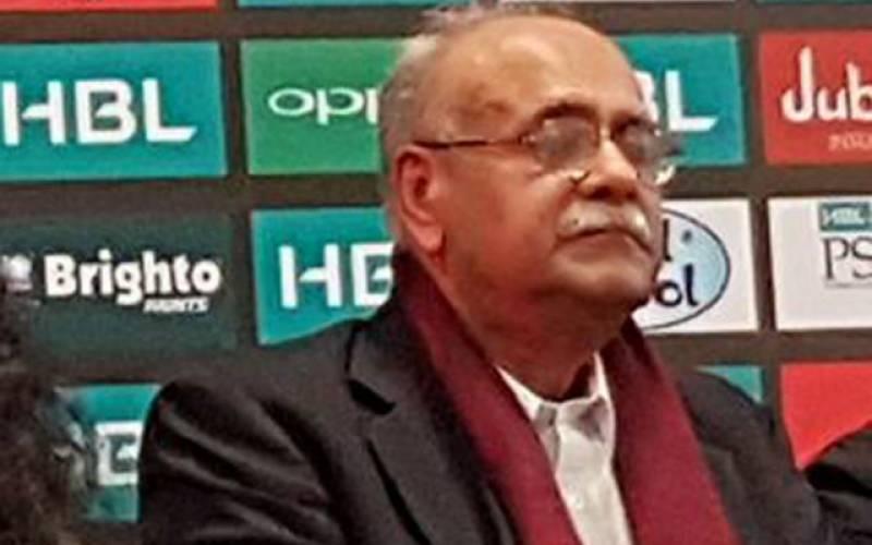 پی ایس ایل کا فائنل کراچی میں ہی کھیلا جائے گا: چیئرمین پی سی بی