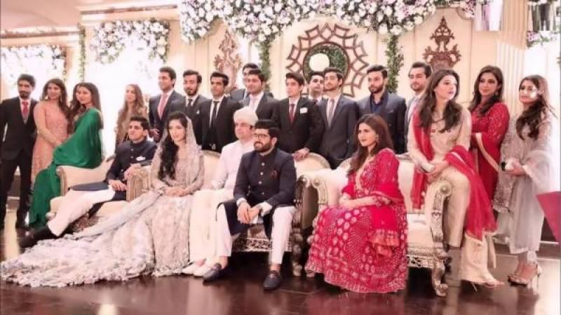 وزیر اعظم کے بیٹے کی شادی ، تصاویر سوشل میڈیا پر وائرل