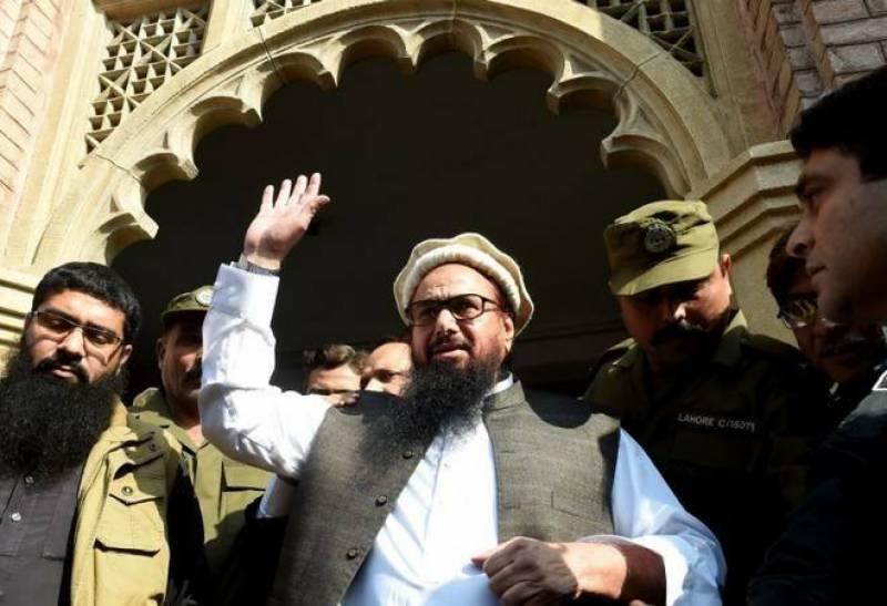 حافظ سعید کی عدم گرفتاری کے احکامات میں توسیع کر دی گئی