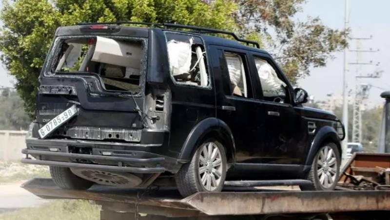 فلسطینی وزیراعظم کے قافلے کے قریب بم دھماکہ،کئی افراد زخمی