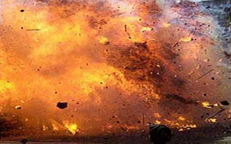 بھارت میں بم دھماکہ، 9 فوجی ہلاک، 10 زخمی